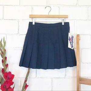 NWT deadstock Reebok tennis skirt blue